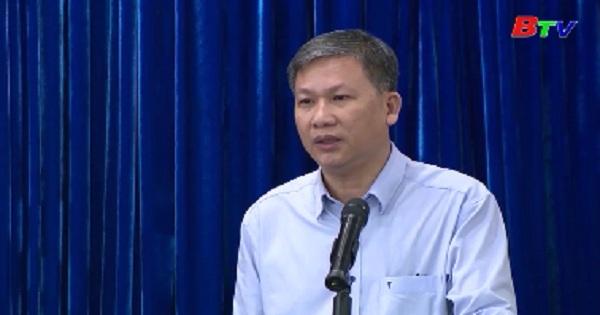 UBND tỉnh Bình Dương tổ chức phiên họp thường kỳ tháng 6