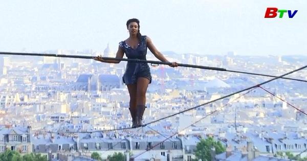Ngoạn mục màn đi dây của diễn viên Bongonga