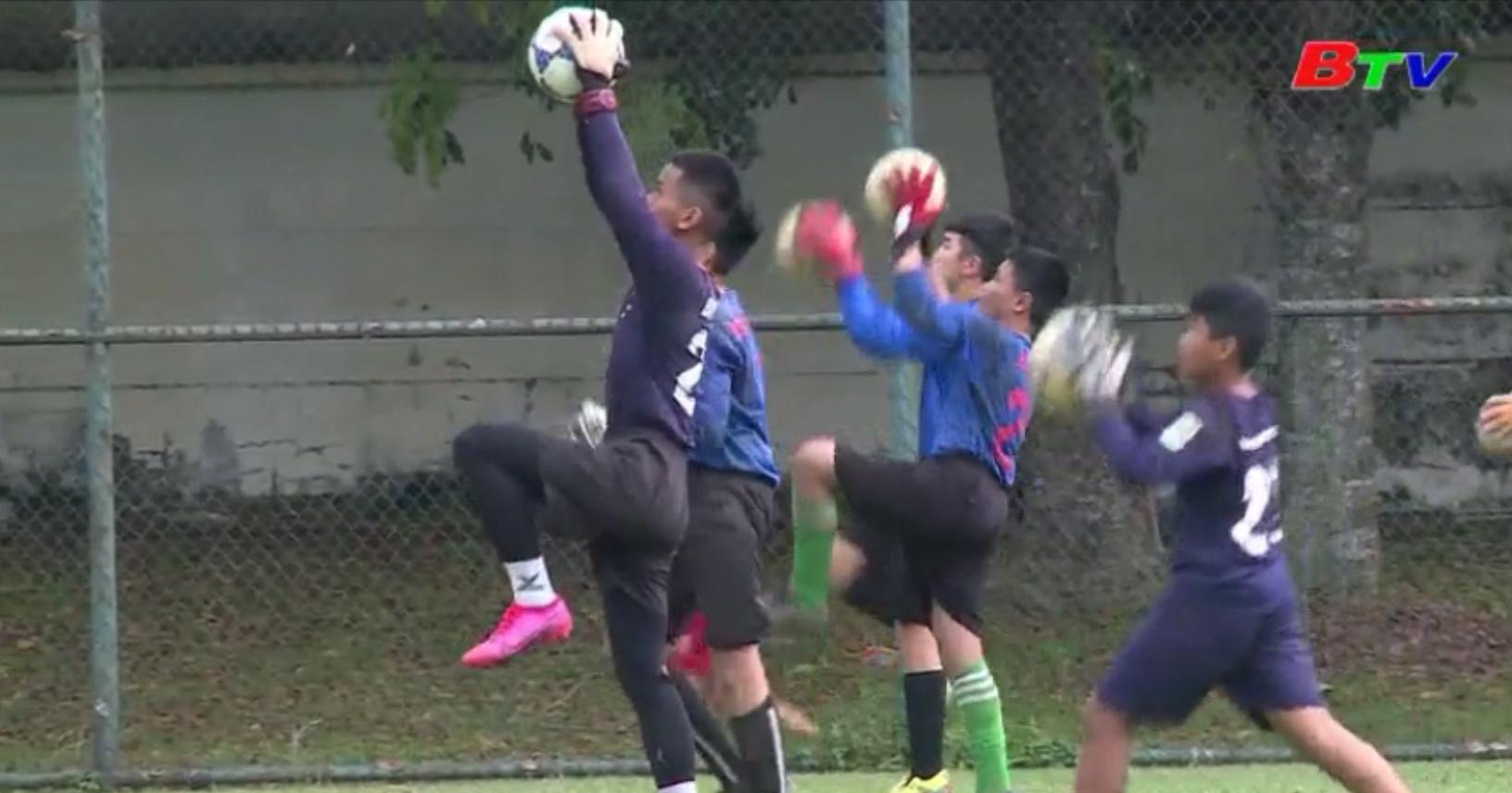 Công tác đào tạo thủ môn của bóng đá trẻ Bình Dương