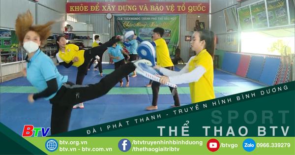 Đội tuyển Taekwondo Bình Dương chuẩn bị Giải Vô địch Quốc gia 2021