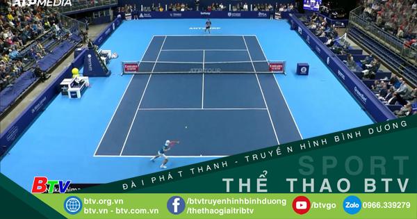 Kết quả vòng tứ kết Giải quần vợt châu Âu mở rộng 2021
