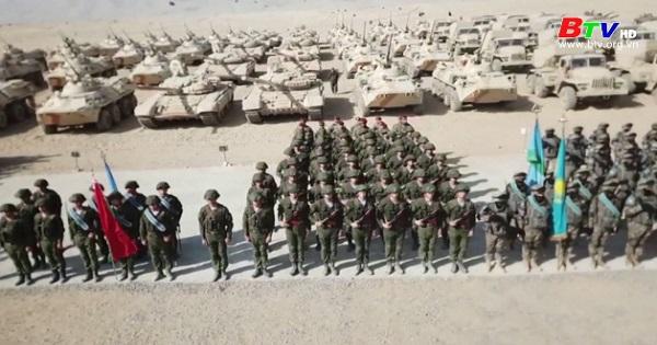 Nga - Tajikistan diễn tập chống khủng bố