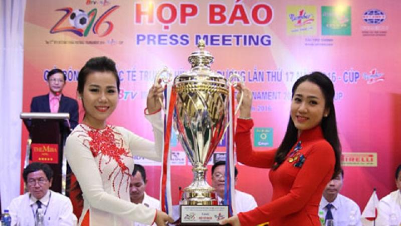 Họp báo Giải bóng đá quốc tế Truyền hình Bình Dương Cup Number One lần thứ 17 năm 2016