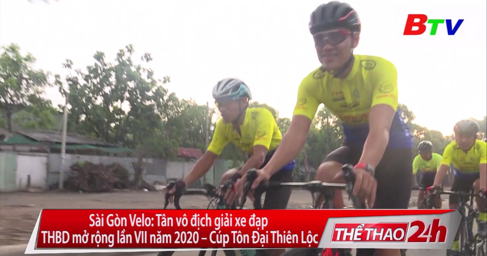 Sài Gòn Velo – Tân vô địch Giải Xe đạp Truyền hình Bình Dương mở rộng lần VII năm 2020 - Cúp Tôn Đại Thiên Lộc