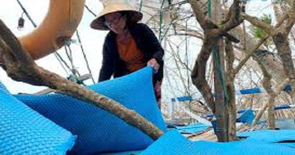 Đảo bé An Bình, Lý Sơn thiệt hại nặng nề sau thiên tai