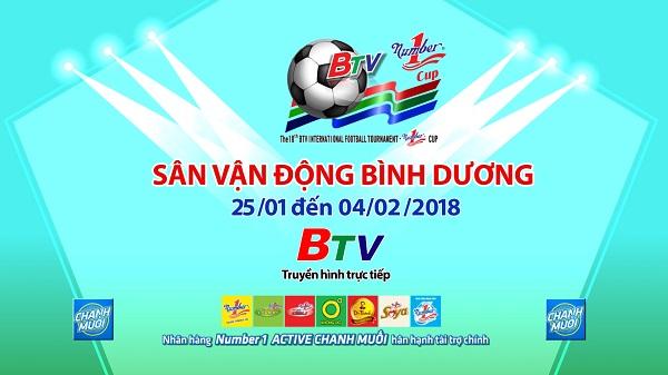 Lịch thi đấu Giải Bóng đá Quốc tế THBD - Cúp Number One lần thứ XVIII