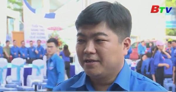 Khai mạc Ngày đoàn viên - Ngày hội thanh niên Việt Nam tỉnh Bình Dương 2018