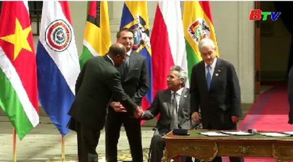 Các nước Nam Mỹ thành lập tổ chức khu vực PROSUR