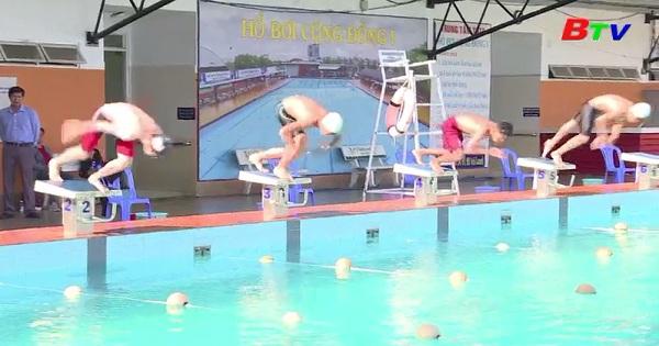 Giải vô địch bơi lội các nhóm tuổi tỉnh Bình Dương năm 2019