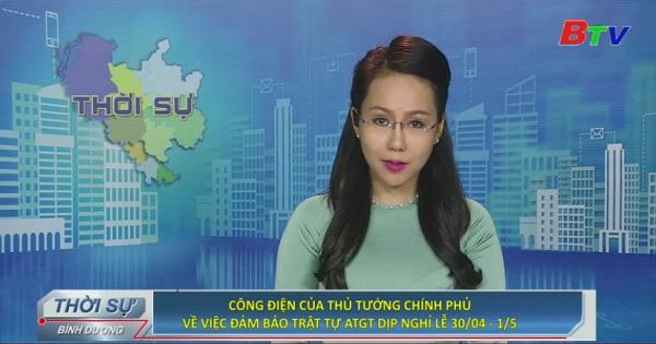 Công điện của thủ tướng chính phủ về việc đảm bảo trật tự ATGT dịp nghỉ lễ 30/4 - 1/5