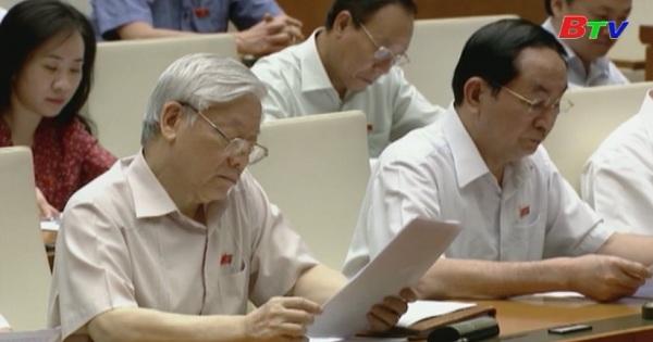Quốc hội thảo luận về chương trình xây dựng luật, pháp lệnh năm 2018