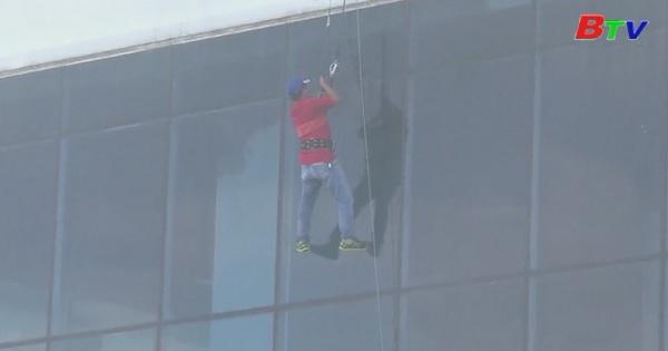 Diễn tập phương án chữa cháy và cứu nạn, cứu hộ tại tòa nhà TDC Plaza