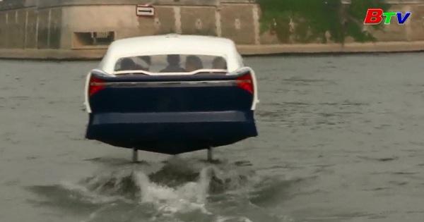 Thử nghiệm taxi bay trên sông Seine