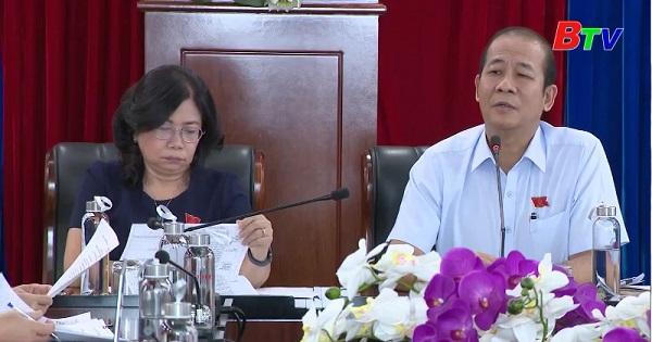 Góp ý văn kiện đại hội Đảng bộ tỉnh Bình Dương nhiệm kỳ 2020-2025