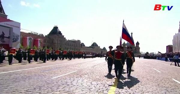 Nga duyệt binh kỷ niệm 75 năm chiến thắng trong chiến tranh vệ quốc vĩ đại