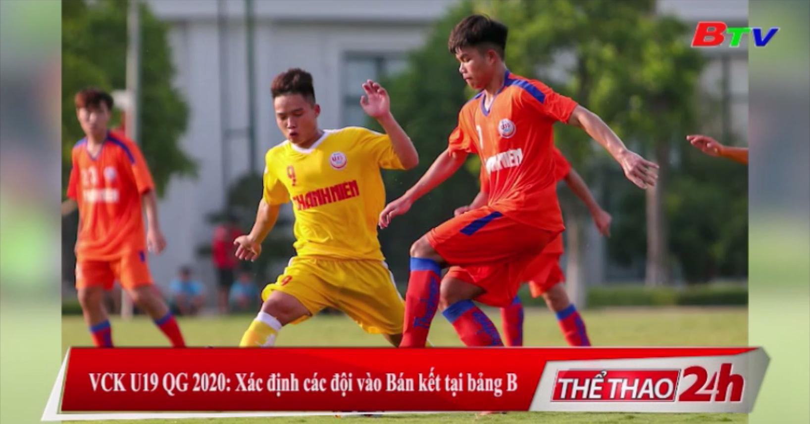 VCK U19 QG 2020 - Xác định các đội vào Bán kết tại bảng B