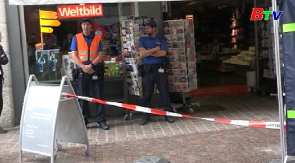 Tấn công bằng cưa máy ở Thụy Sĩ, 5 người bị thương