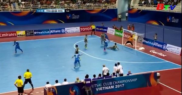 CLB Thái Sơn  vào tứ kết giải AFC Futsal Club Championship 2017