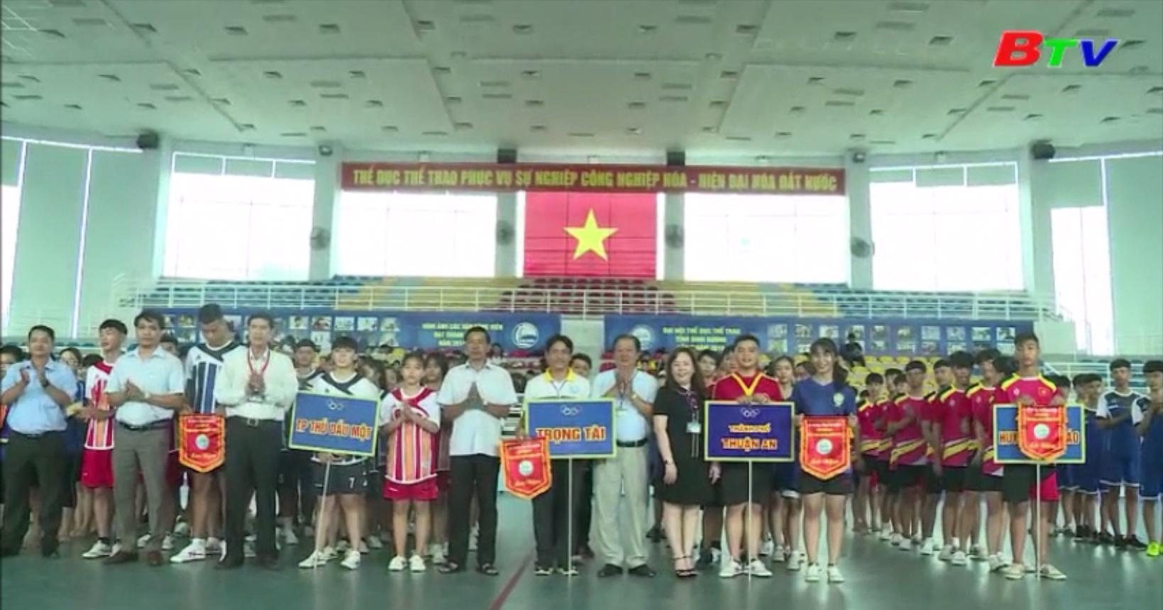 Khai mạc Hội thao Hè tỉnh Bình Dương năm 2020
