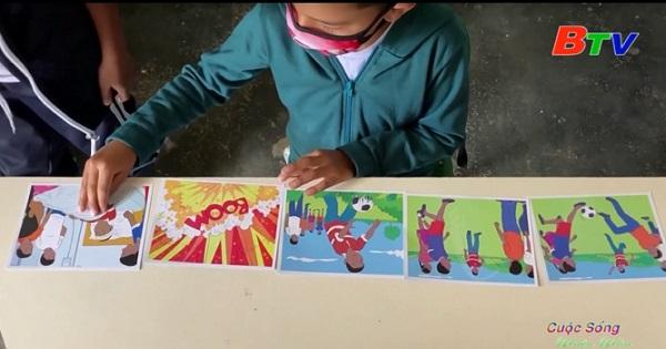 Trẻ em Colombia được học cách xử lý bom mìn