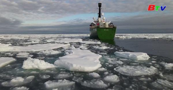 Băng tan ở vòng Bắc cực lên mức báo động