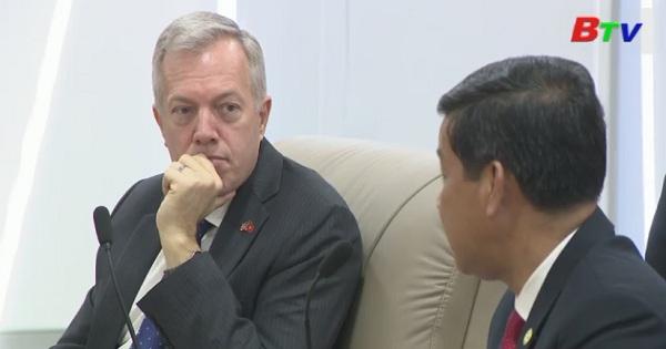 Lãnh đạo tỉnh Bình Dương tiếp đại sứ Hoa Kỳ