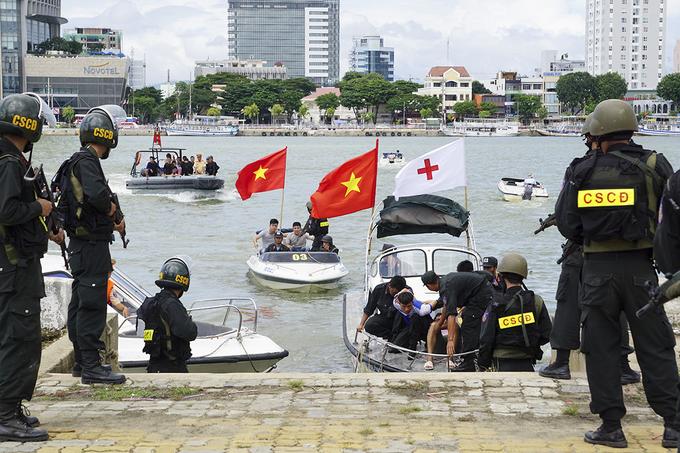Đà Nẵng diễn tập ứng phó cấp cứu phục vụ APEC 2017