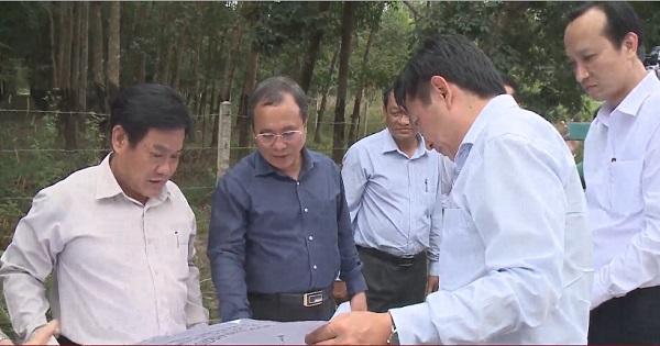 Lãnh đạo tỉnh Bình Dương kiểm tra tiến độ thực hiện các công trình trên địa bàn