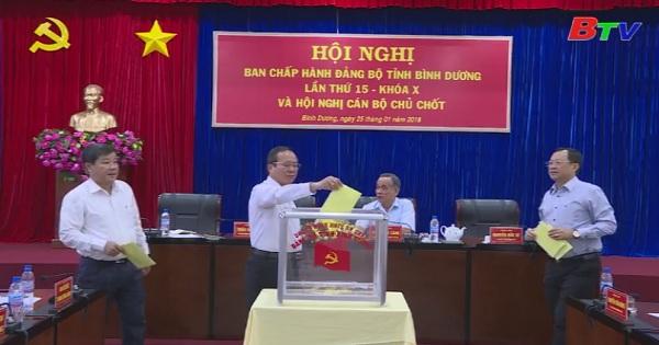 Hội nghị Ban chấp hành Đảng bộ tỉnh Bình Dương lần thứ 15 khóa X