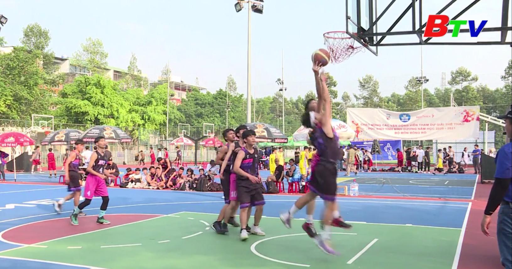 Môn bóng rổ thể thao học sinh năm học 2020-2021 – Sân chơi hướng tới Hội khỏe Phù Đổng lần X