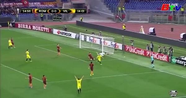 Lượt về Vòng 1/16 Europa League -AS Roma 0-1 Villarreal