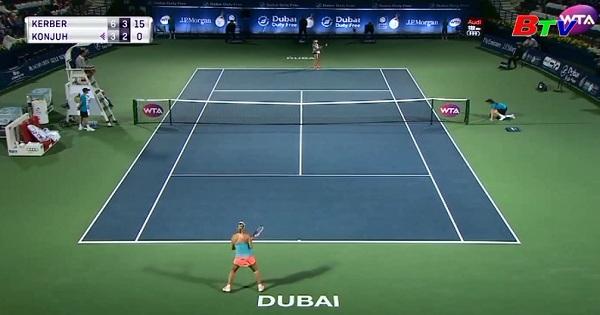 Kerber vào bán kết Giải quần vợt Dubai Championship 2017