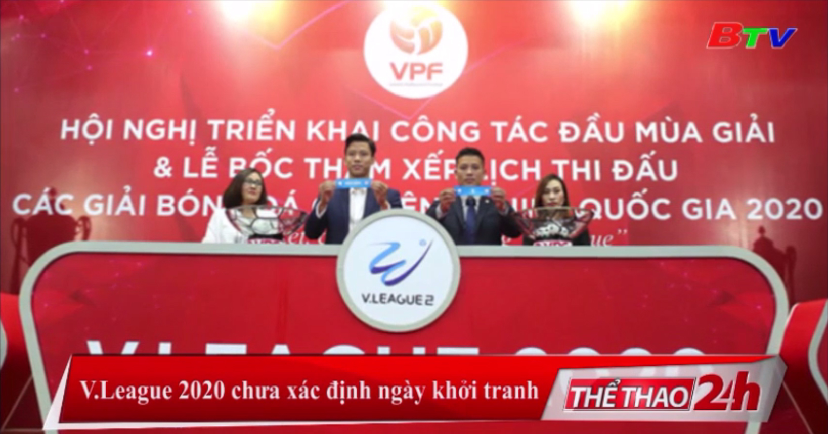 V-League 2020 chưa xác định ngày khởi tranh