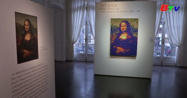 Đấu giá tranh nàng Mona Lisa được làm từ Rubik