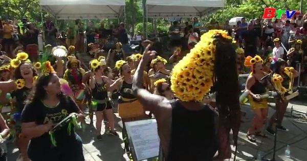 Đỉnh điểm lễ hội ở Rio De Janeiro, Brazil