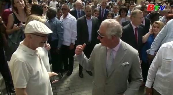 Hoàng gia Anh lần đầu tiên thăm chính thức Cuba