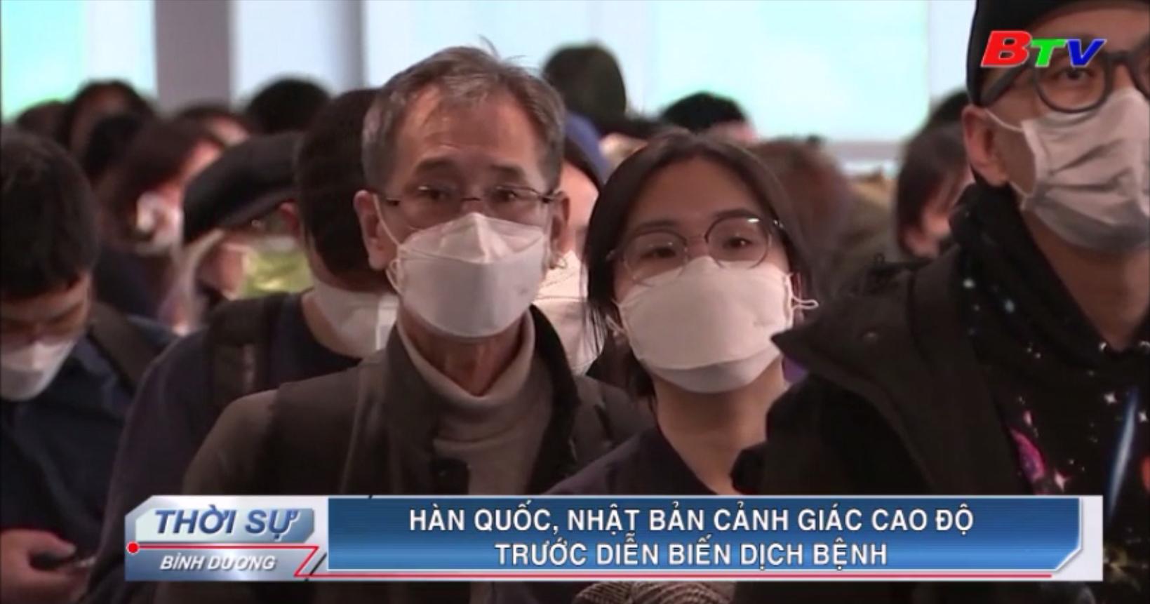 Hàn Quốc, Nhật Bản cảnh giác cao độ trước diễn biến dịch bệnh