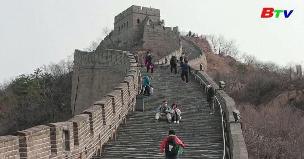 Mở cửa lại Vạn Lý Trường Thành ở Trung Quốc