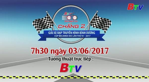 Giải Xe đạp Truyền hình Bình Dương Cúp Becamex IDC lần thứ IV năm 2017