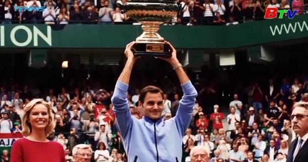 Roger Federer lần thứ 9 vô địch Halle mở rộng