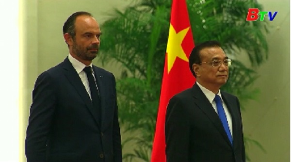 Trung Quốc và Pháp nhất trí tăng cường thương mại