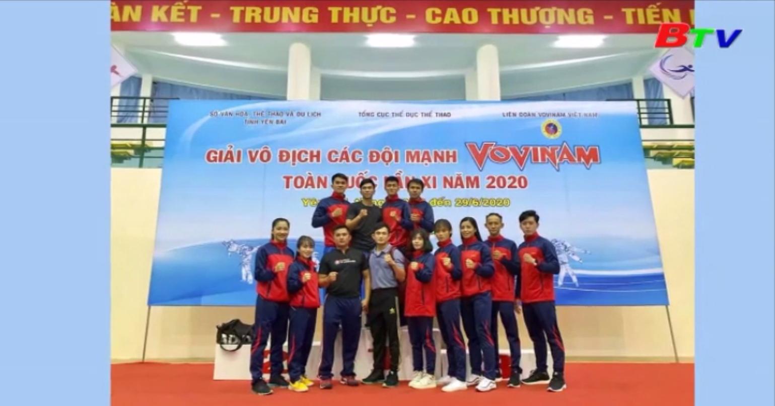 Giải vô địch các đội mạnh Vovinam toàn quốc lần XI năm 2020