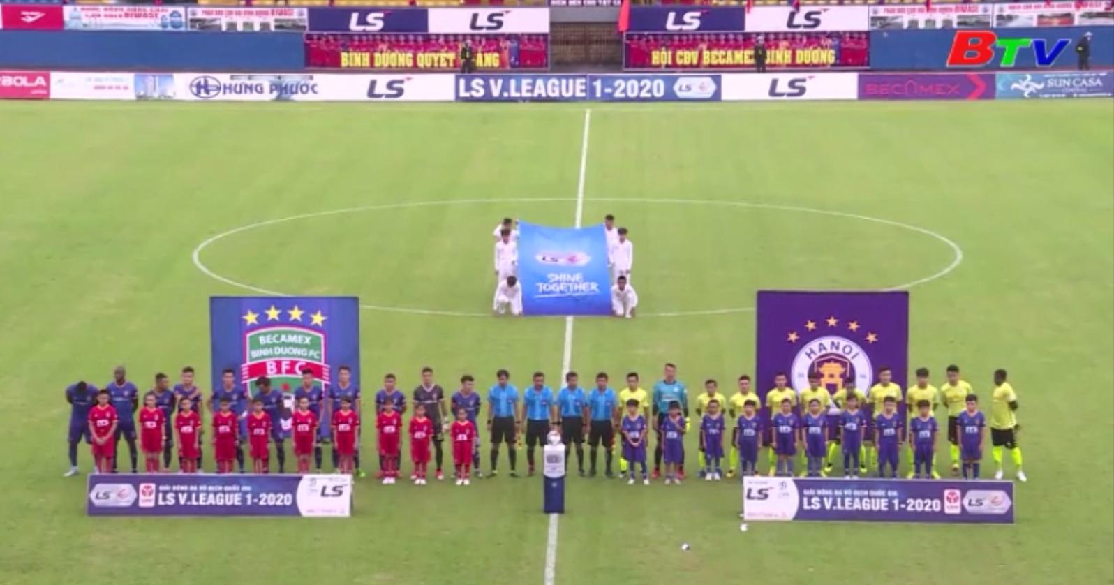 Vòng 6 V-League 2020 – Chiến thắng nhọc nhằn của Hà Nội FC