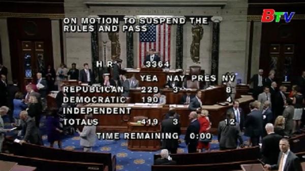 Hạ viện Mỹ phê chuẩn việc trừng phạt Nga, Iran và Triều Tiên