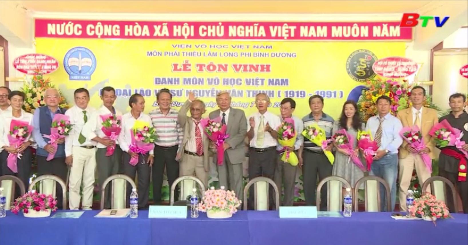 Cố đại võ sư Nguyễn Văn Thịnh - Niềm tự hào của môn võ cổ truyền Việt Nam