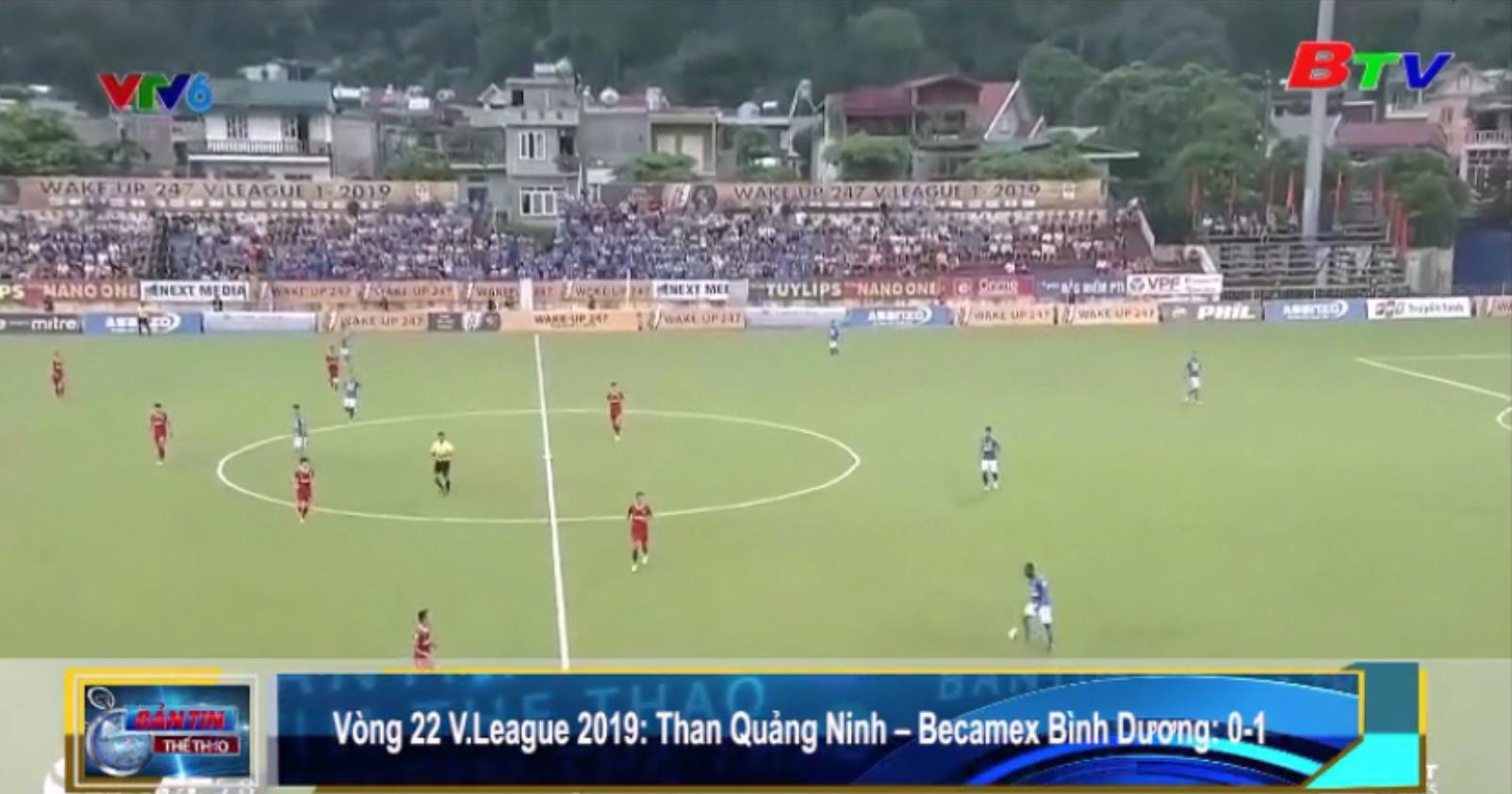Becamex Bình Dương thắng Than Quảng Ninh 1-0, vòng 22 V.League