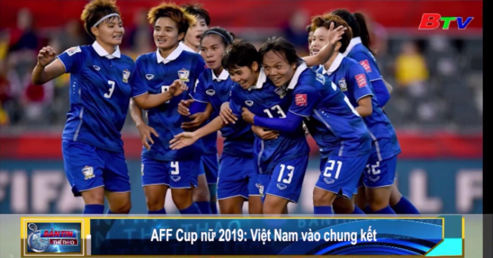 Việt Nam vào chung kết AFF Cúp nữ 2019