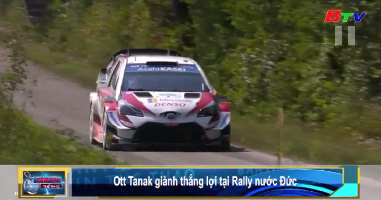 Ott Tanak giành thắng lợi tại Rally nước Đức