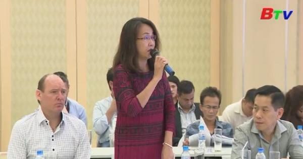 UBND tỉnh Bình Dương đối thoại doanh nghiệp nước ngoài