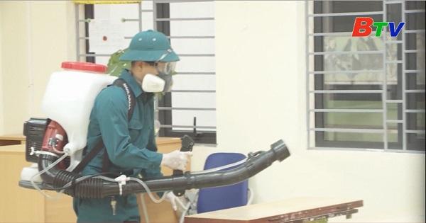 Xuất cấp hóa chất khử khuẩn cho các tỉnh phòng, chống dịch bệnh